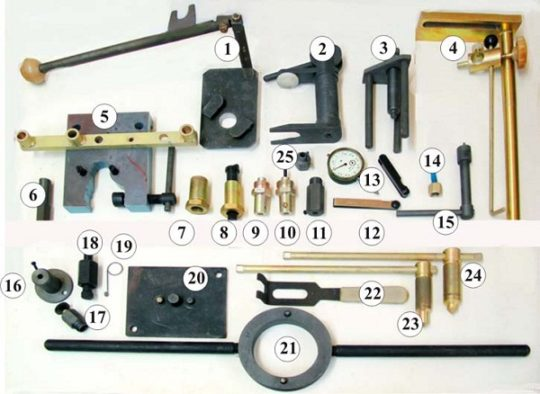 ИР-1 комплект инструмента