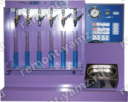 SMC-3002E+ NEW стенд для тестирования ипромывки инжекторов