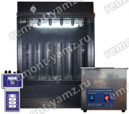 SMC-302E стенд для тестирования ипромывки инжекторов