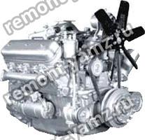 Двигатель ЯМЗ-236ДК-9
