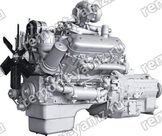 Двигатель ЯМЗ-236НЕ2-8