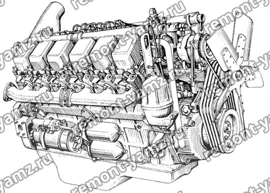 Двигатель ЯМЗ-240БМ2-4